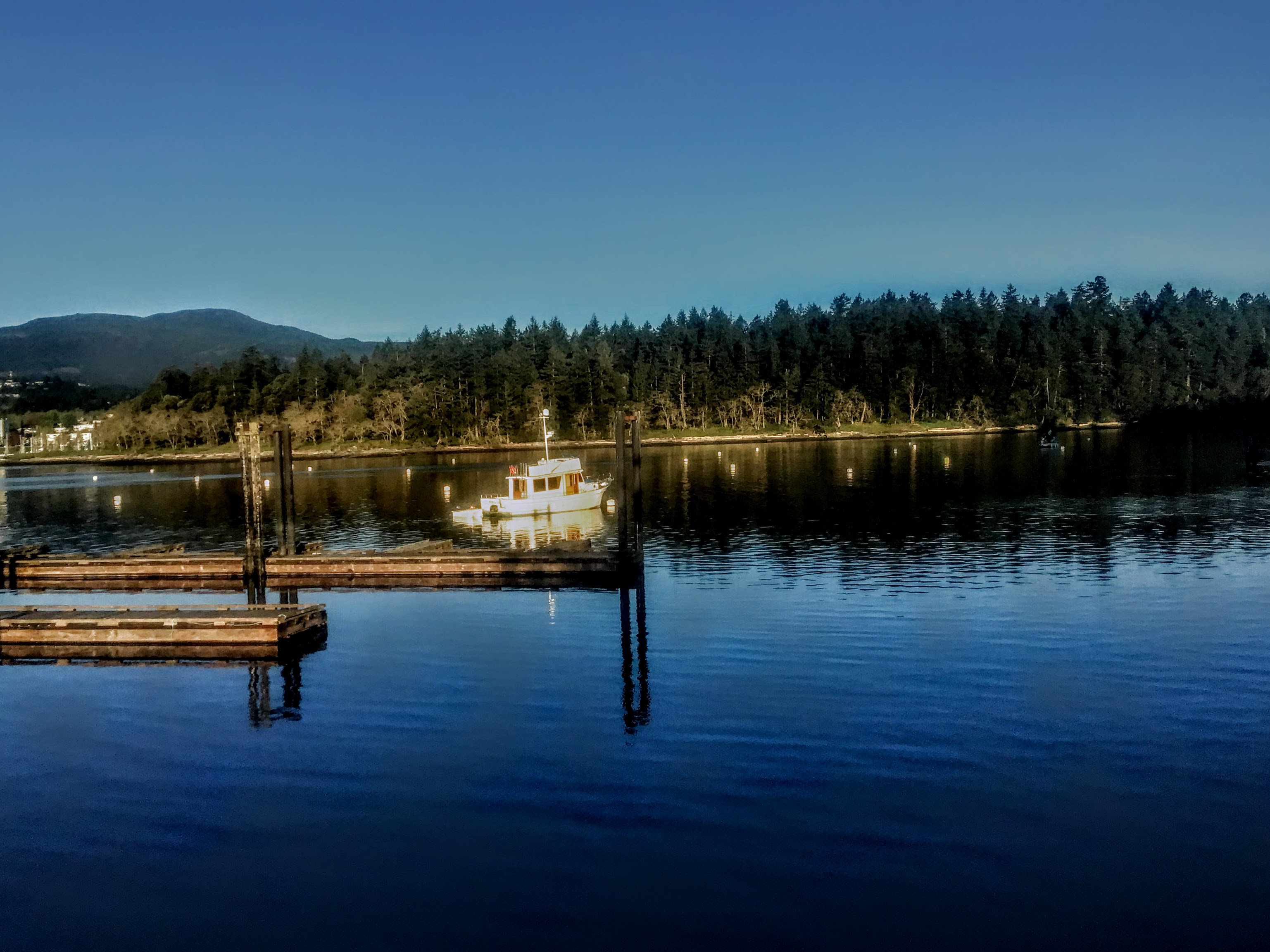 A boat at Ucluelet